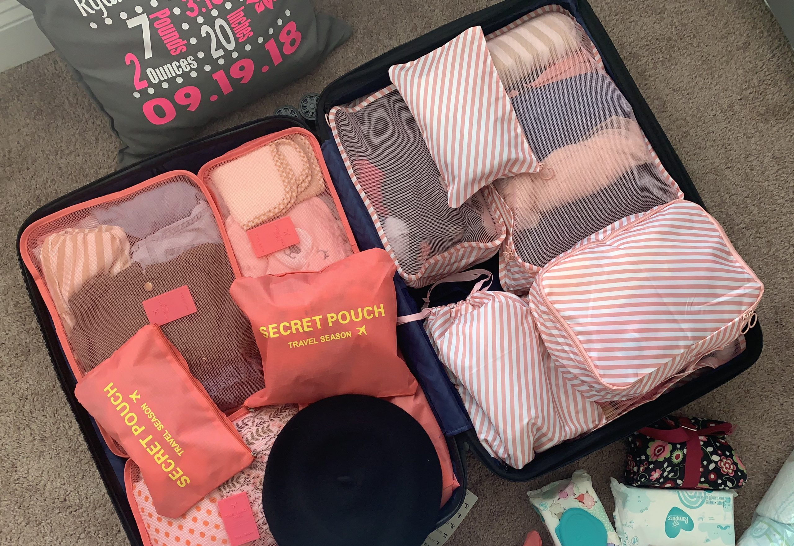 Long Vacation with/without Baby: What to Pack | Kenniqua Mon'a